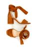 Fabienne Chapot camel spalvos atviros basutės