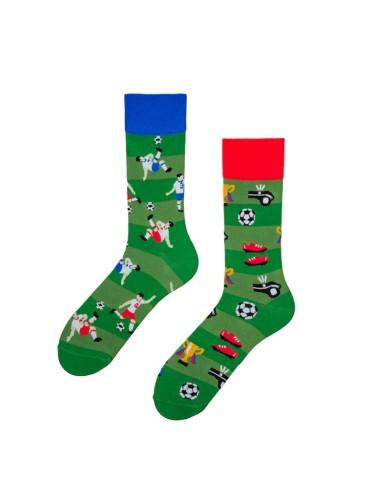 Spalvotos kojinės Futbolo Fanas