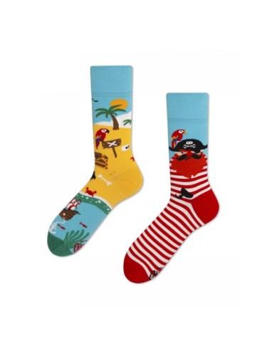 Spalvotos kojinės Piratų Sala