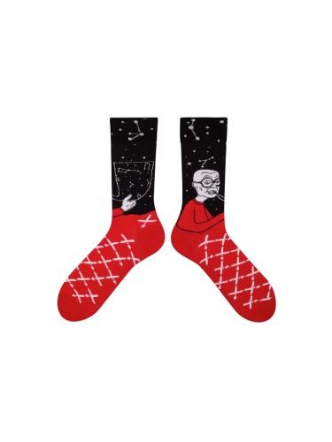 Spalvotos kojinės senelis išminčius