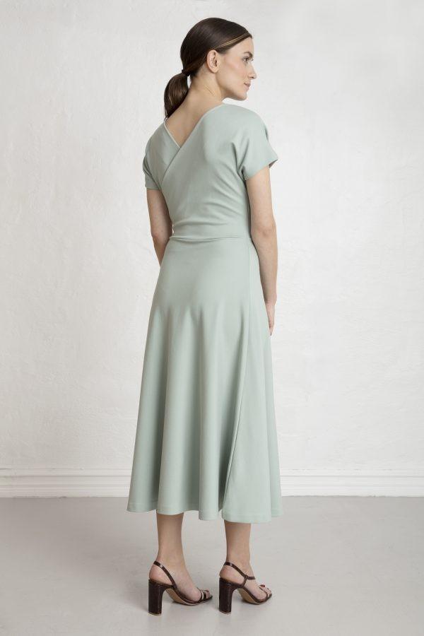 Residus ecovero suknelė stone green